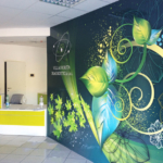 Wall design in Clinica medica