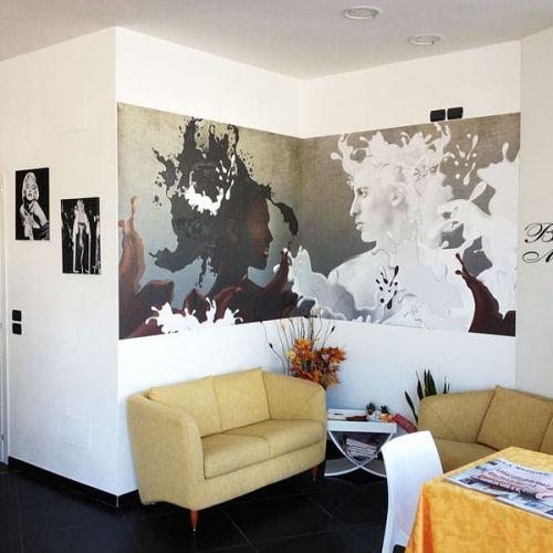 Wall Design in Saletta Bar