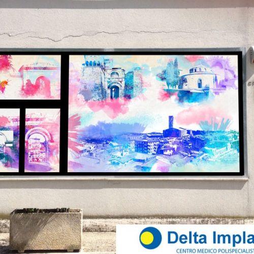 Wall Design in Copertura vetrina