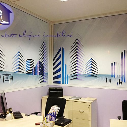 Wall Design in piccolo ufficio