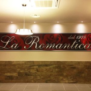 Ristorante - Logo a parete (6mt)