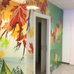 Wall design in Clinica medica