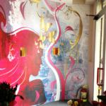 Wall Design in Sala d'attesa